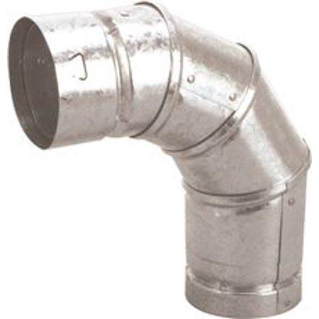 Gas Vent Type B, 5'' X 90 Deg Elbow