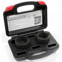 Powerbuilt 648749 Specialty Ball Joint Socket Tool Set, Kit Number 32
