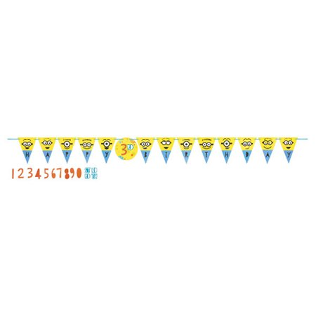Despicable Me 'Minion Fun' Jumbo Pennant Banner Kit
