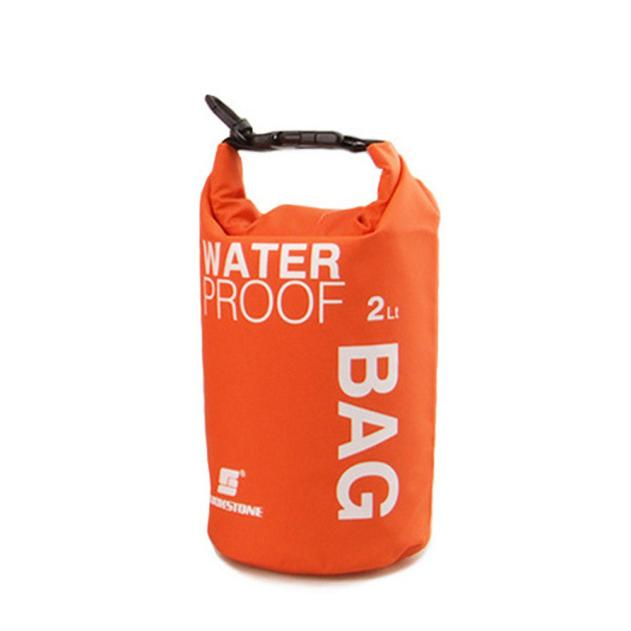 Hight Quality 2L Waterproof Bag Storage Dry Bag for Canoe Kayak Rafting Mobile phone camera BU