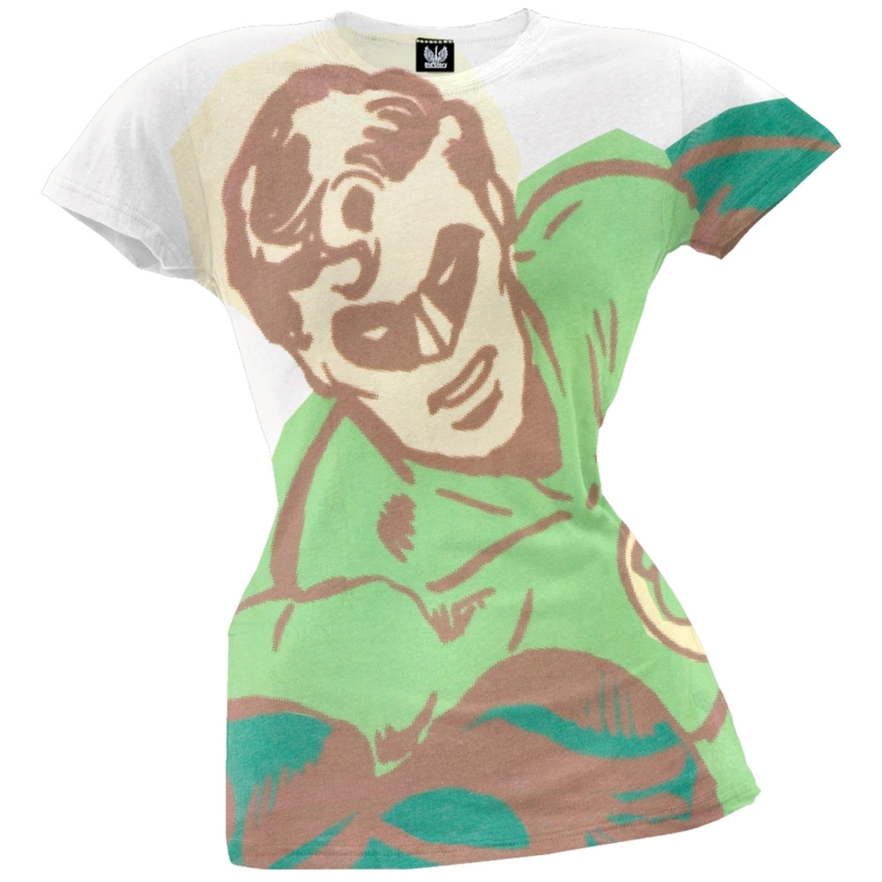 Green Lantern - Green Suave Juniors T-Shirt