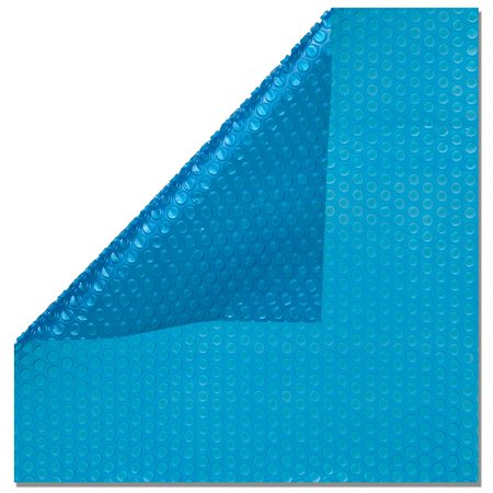 In the Swim 16' X 32' Rectangle Inground Swimming Pool Solar Blanket Cover 12 Mil Blue ()
