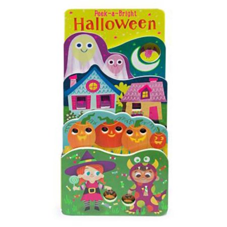 Peek-A-Bright Halloween (Board Book) (Ashley Tisdale Halloween)