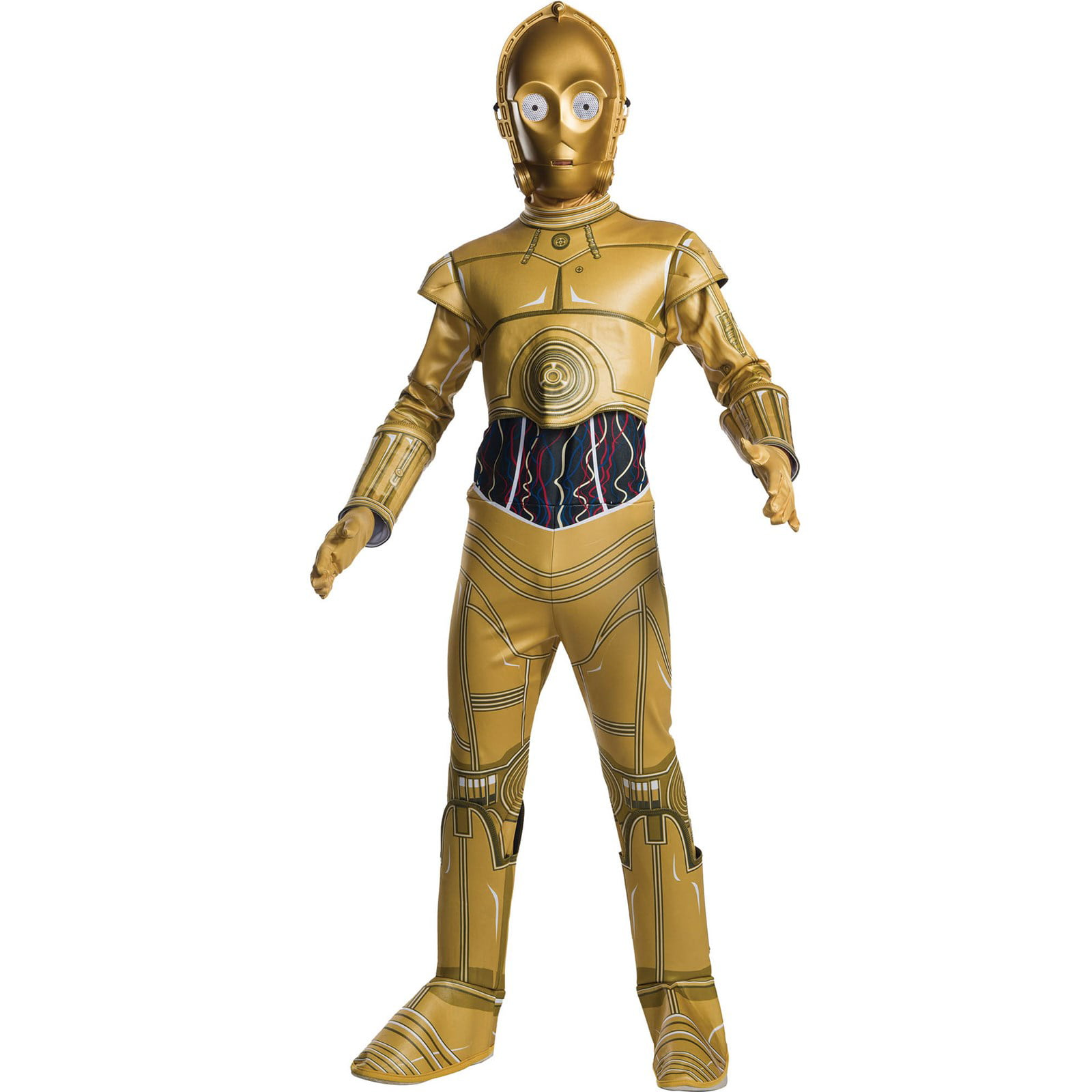 Star Wars Mens C-3PO Droid Costume All-Over Print T-Shirt