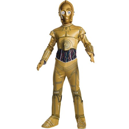 Childrens Scary Halloween Costumes (Star Wars Classic Childrens C-3Po Classic)