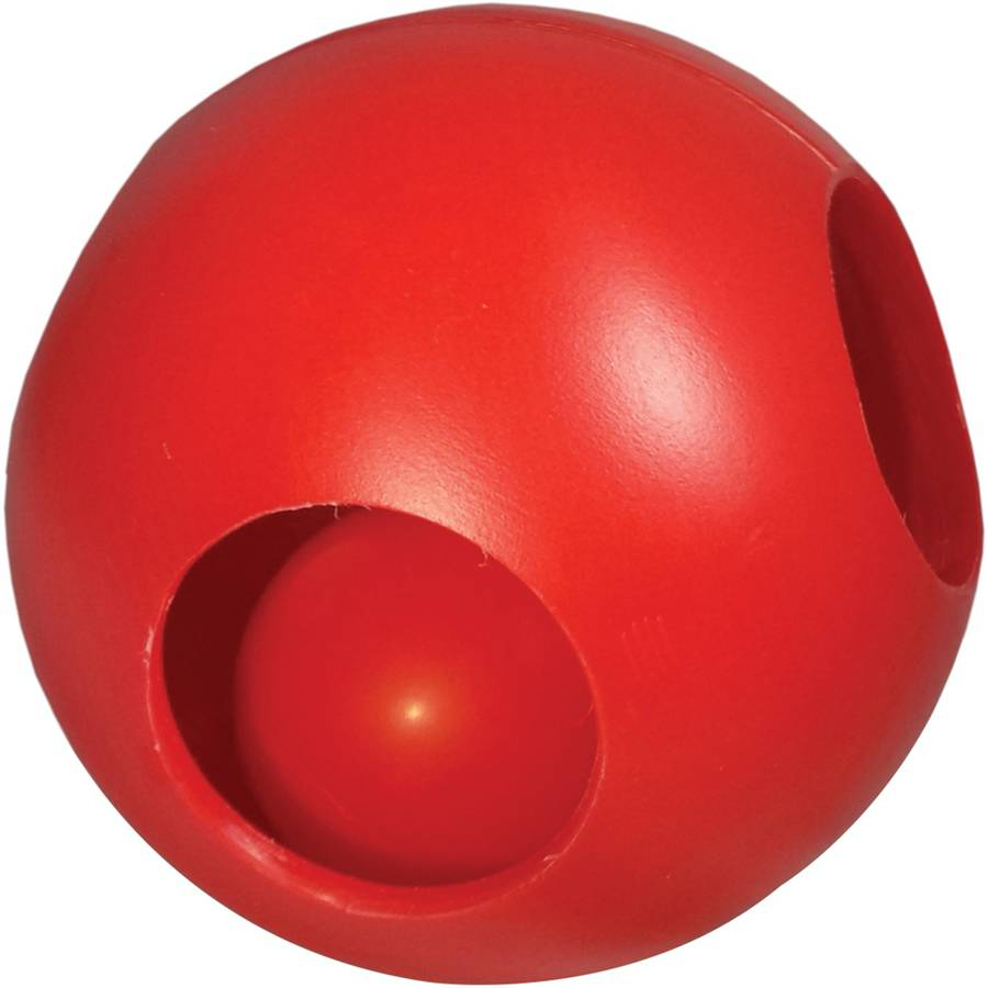 """Paw-Zzle Ball, 10"""", Red"""