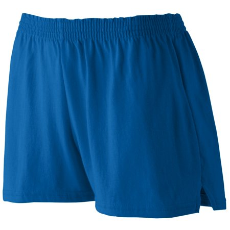 Augusta Sportswear Girls Trim Fit Jersey Short, Royal, - Girls Jersey Short