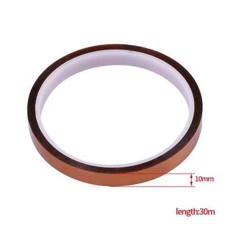 Cergrey 1 bande isolante résistante à la chaleur auto-adhésive à haute température de 10Roll * 30m pour pour PCB SMT, bande résistante à la chaleur, bande de BGA - image 5 de 7