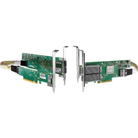 Mellanox ConnectX-5 Infiniband/Ethernet Host Bus Adapter PCIe 3 0x8 - 100  Mbit/s