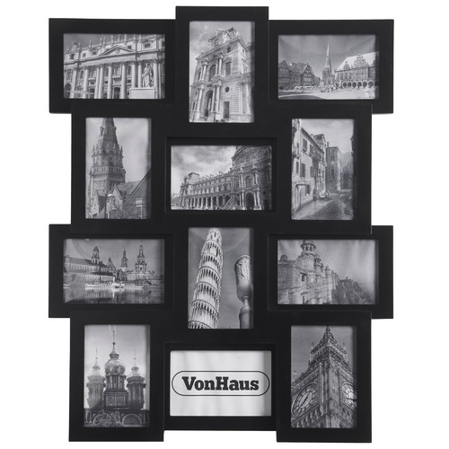 VonHaus 12 Piece Collage Picture Frame Set