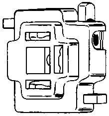Hella 001909001 Con H4 Sckt Wsnap Lock 1