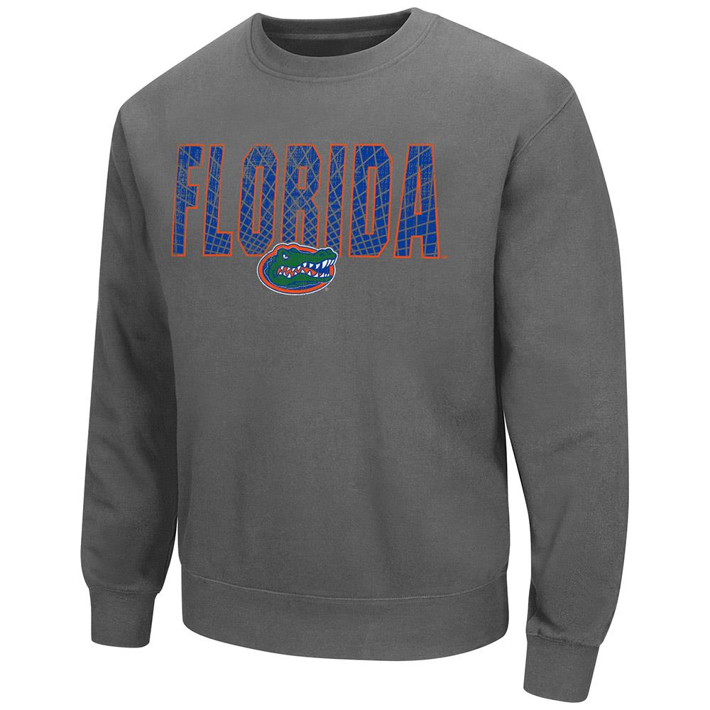 Mens Florida Gators Crew Neck Sweatshirt by Colosseum