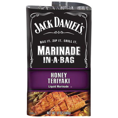 Jack Daniel's EZ Honey Teriyaki Marinader, 12 oz