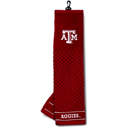 Texas A&m University Embroidered - A&m Golf Towel