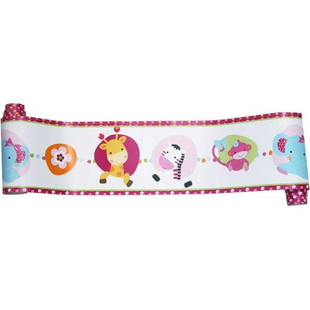 bedtime originals tutti frutti wallpaper border