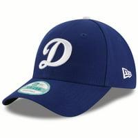 Los Angeles Dodgers New Era Script D Logo The League 9FORTY Adjustable Hat - Royal - OSFA
