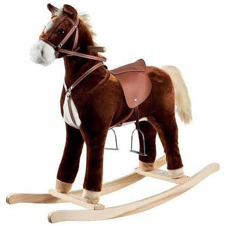 - Happy Trails Plush Rocking Horse