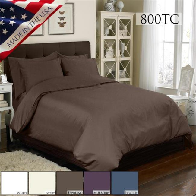 6 PC DUVET SET 800TC 736425517235 6 PC DUVET SET 800TC DUVET SET WHITE by 6 PC DUVET SET 300TC