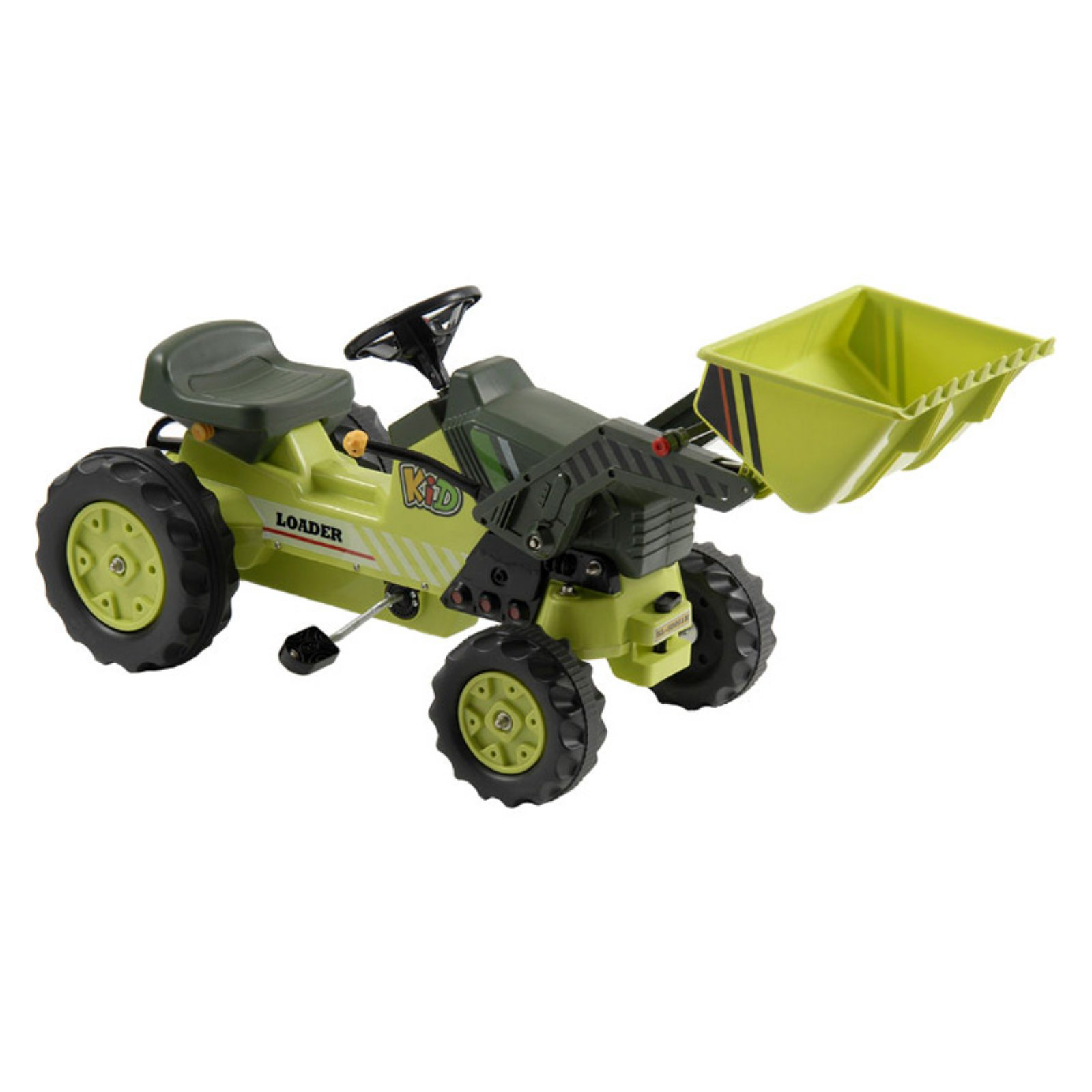 Kalee Tractor & Loader Pedal Riding Toy