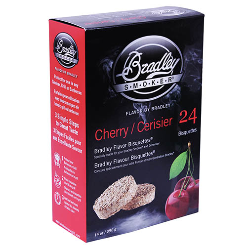 Bradley Technologies Cherry Bisquettes 24 Pack SKU: BTCH24 with Elite Tactical Cloth