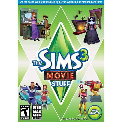 Sims 3 Movie Stuff Expansion Pack (PC/Mac) (Digital Code)