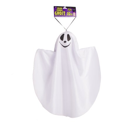 "Fun World Hanging Ghost Asst 3 Style Hanging Decoration, 20"", White Black"