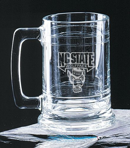 North Carolina State Wolfpack Deep Etched Colonial Tankard Mug