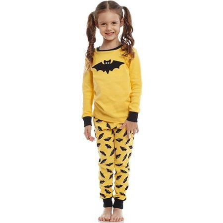 Leveret Bat 2 Piece Pajama Set 100% Cotton 12-18
