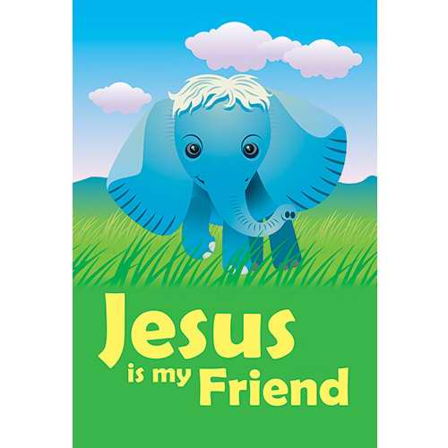 VCPW 107571 Banner Jesus Children Is My Friend 2 x 3 Ft.  Indoor
