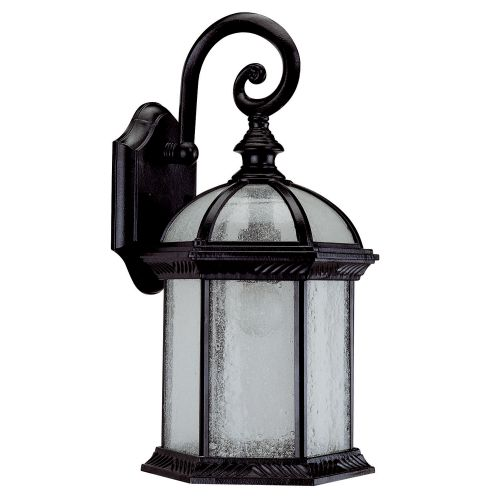 "DVI Lighting OCA1300 1 Light 8"" Wide Outdoor Sconce from the Hexagon Collection"