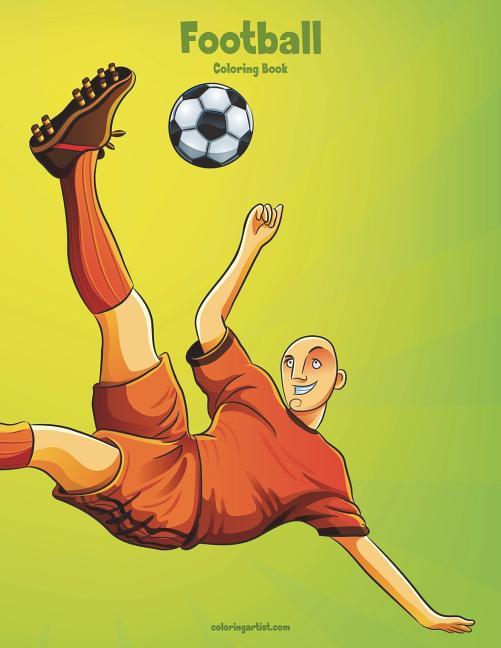 Football Coloring Book 1 - Walmart.com - Walmart.com