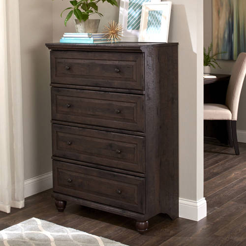 Better Homes and Gardens Crossmill 4-Drawer Dresser, Multiple Finishes by Sauder Woodworking