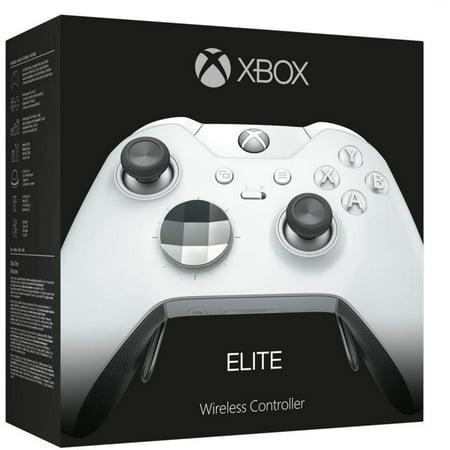 Microsoft Xbox One Elite Wireless Controller - Platinum White OPEN BOX