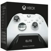 Microsoft Elite Wireless Controller, Xbox One, Xbox One S & Windows 10 - White