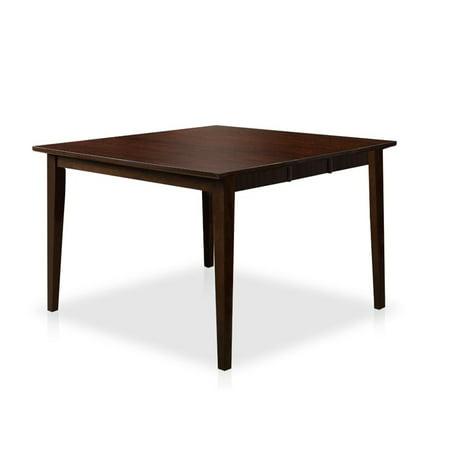 Furniture of america schipani extendable counter height for Counter height extendable dining table