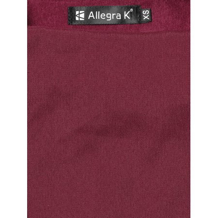 ef68847bf07 Unique Bargains Women s Corduroy Button Decor A Line Suspender Overall  Dress Burgundy (Size S ...