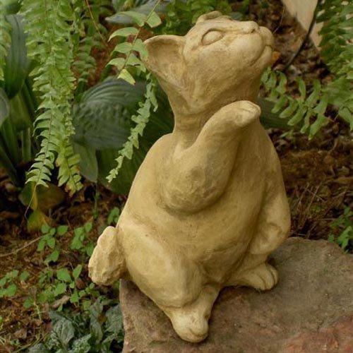 Standing Kitten Garden Statue by Brookfield Co