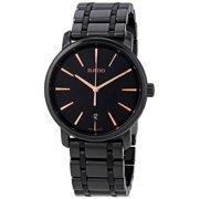 Rado Diamaster XL Black Dial Black Ceramic Men's Watch R14066152