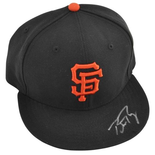 Buster Posey San Francisco Giants Fanatics Authentic Autographed New Era Cap - No Size