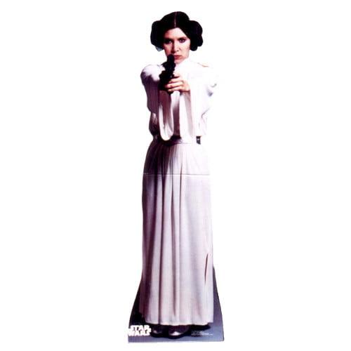 Advanced Graphics Star Wars Princess Leia Organa Life Size Cardboard Stand Up