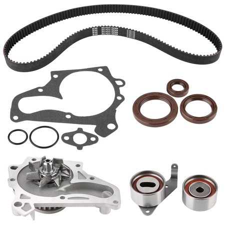 Mgaxyff TCKWP199 Timing Belt Kit for Toyota Camry Celica 1987-2001 , TB199LK1, Timing Chain Cover (1996 Toyota Camry Timing Belt Or Chain)