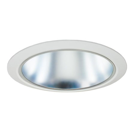6-Inch Aperture Reflector Trim Cone Reflector White Trim