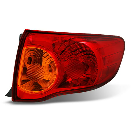 Fits 2009 2010 Toyota Corolla Passenger Right Side Outer Piece Tail Light Set 05 Toyota Corolla Tail Lights
