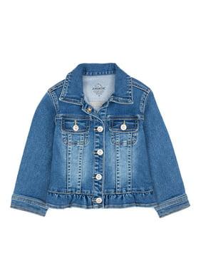Jordache Toddler Girl Ruffle Denim Jacket