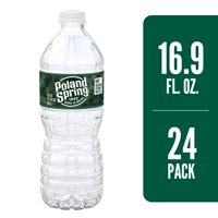 POLAND SPRING Brand 100% Natural Spring Water, 16.9-ounce plastic bottles (Pack of 24)