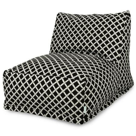 Majestic Home Goods Bamboo Bean Bag Chair Lounger, (Bamboo Restaurant Lounge)