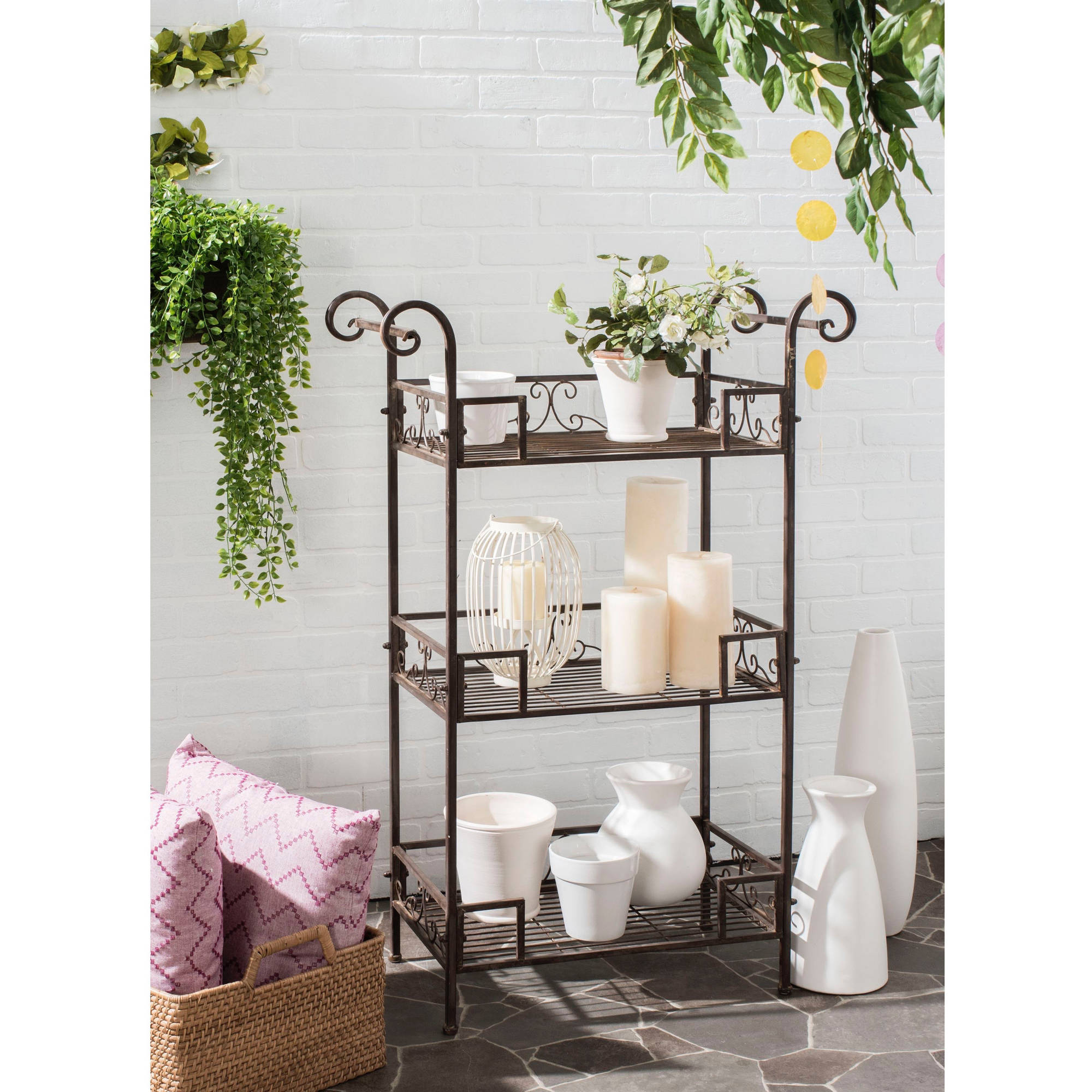 Safavieh Noreen 3-Tier Outdoor Shelf