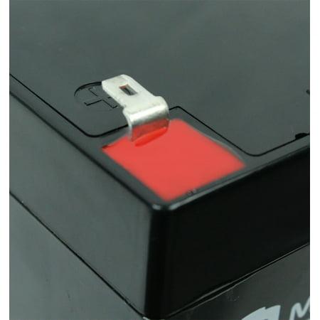 12V5AH SLA Battery Replaces Quantum QC6IPFF Telephone Entry Unit - image 3 of 6