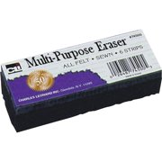 CLI Multi-Purpose Eraser, Black, 1 Each (Quantity)