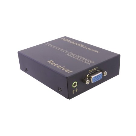 axGear VGA Over CAT5e Extender VGA Through RJ45 Cat6 Network Extension With Audio up to 1000Ft 300M - image 6 of 8